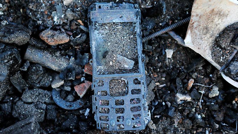 VIDEO: Un celular explota en el bolsillo del comensal de un restaurante en medio del almuerzo