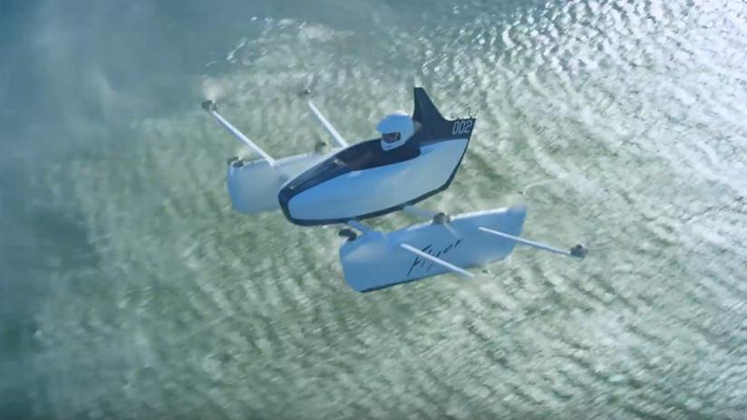 Flyer: Sale la preventa del auto volador - Innovación