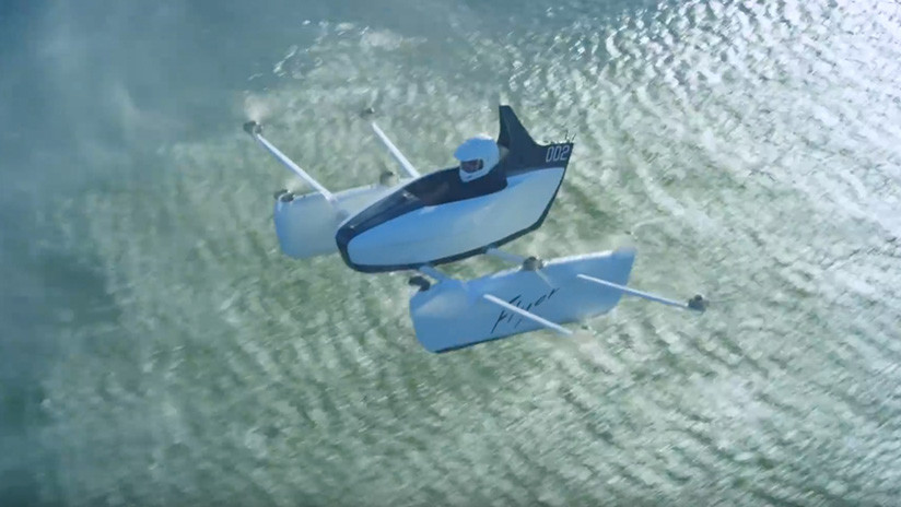"""Un dron de tamaño humano"": presentan el multicóptero monoplaza Kitty Hawk Flyer (VIDEO)"