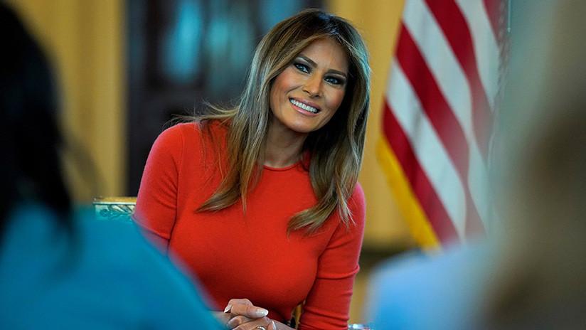 Trump disipa los rumores sobre la 'desaparición' de su esposa Melania