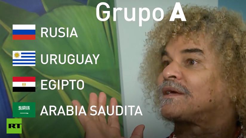 'El Pibe' Valderrama hace sus predicciones para el Mundial de Rusia 2018 (VIDEO)