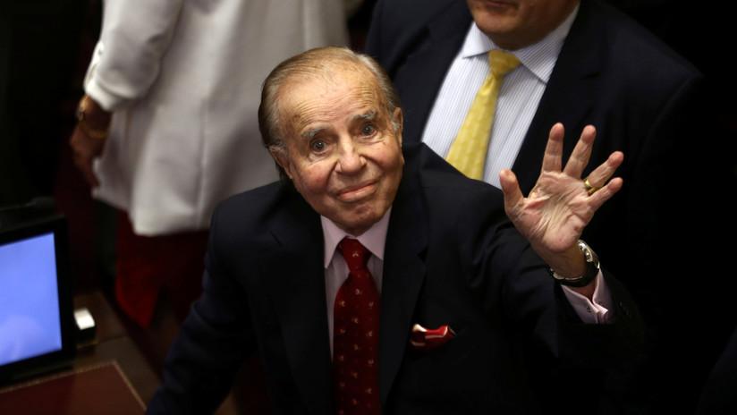 FOTOS: Expresidente argentino Carlos Menem vuelve al banquillo por supuesto peculado