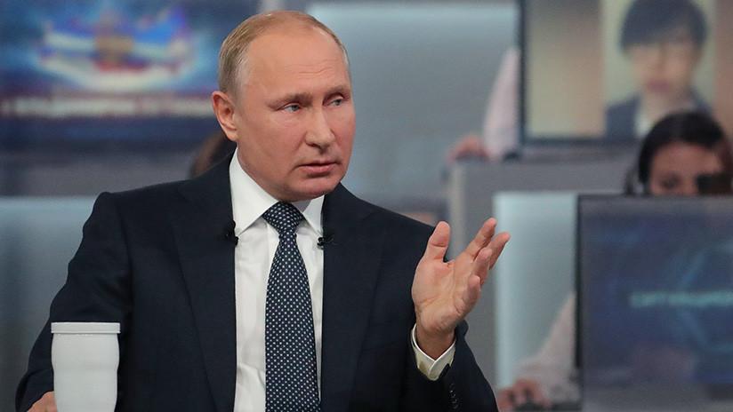 """Putin: """"Una Tercera Guerra Mundial acabaría con la civilización; eso debería frenar los conflictos"""""""