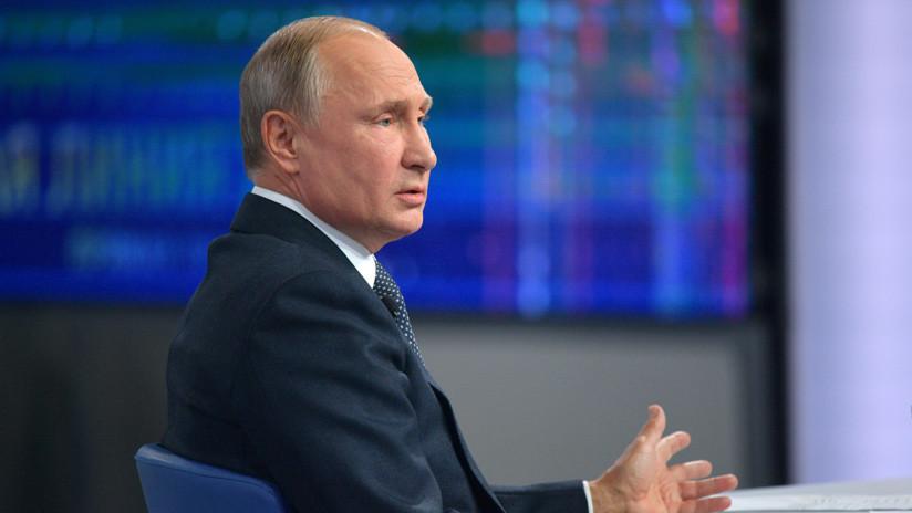 VIDEO: Putin pronostica cuándo cesarán las presiones contra Rusia