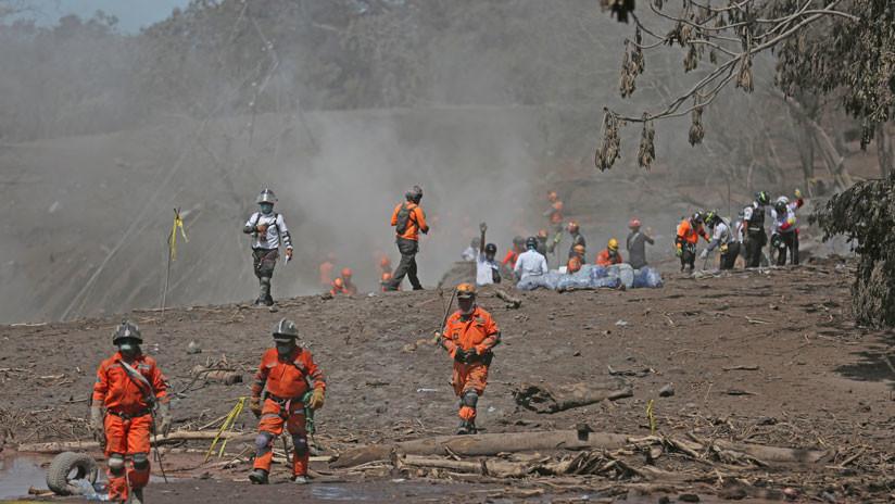 México envía apoyo médico a Guatemala tras la erupción del Volcán de Fuego