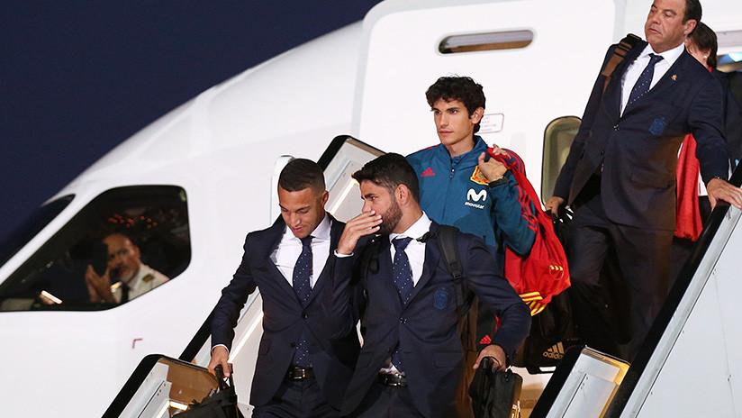 FOTOS: La selección española llega a Rusia para la Copa Mundial de Fútbol