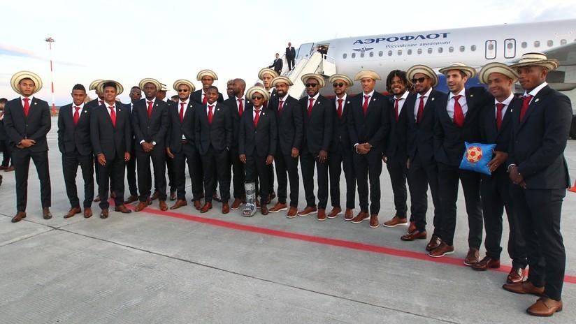 FOTOS: La selección de Panamá llega a Rusia para el Mundial 2018