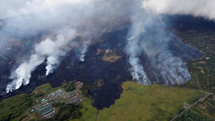 El volcán Kilauea destruye por completo una zona turística en Hawái