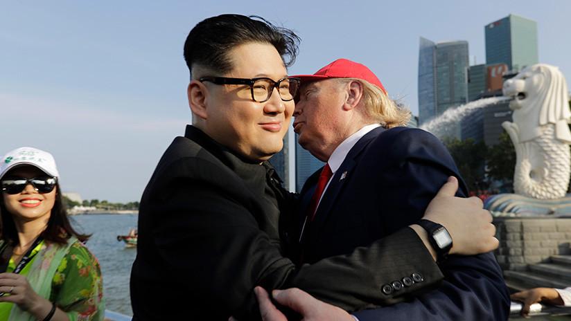 Trump deja G-7 para reunión con Kim en