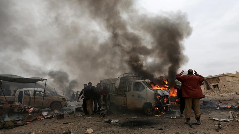 Moscú desmiente los informes sobre ataques aéreos de Rusia en Siria