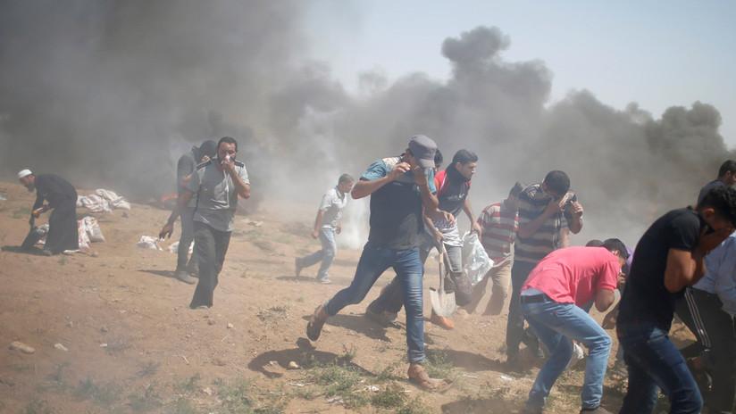 Deja 400 heridos protesta en Gaza