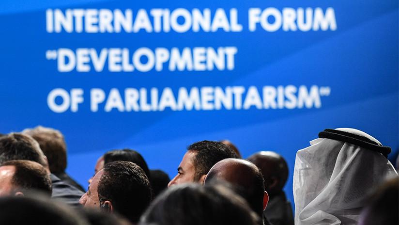 Delegaciones latinoamericanas participan en el Foro Interparlamentario en Moscú