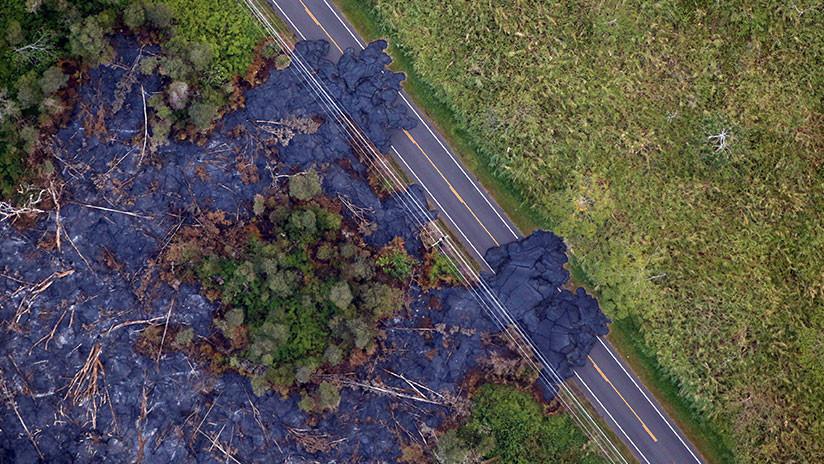 La erupción del volcán Kilauea incrementó el territorio de Hawái y todavía puede sumar tierras