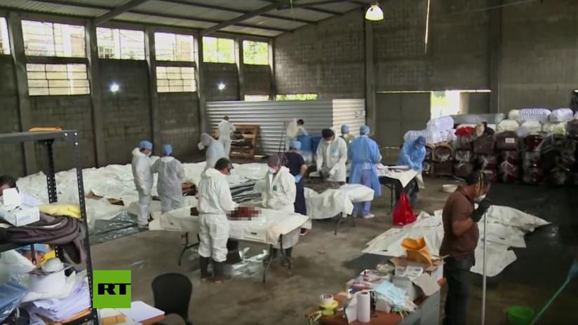 """""""Mezclaron restos de varias personas"""": Morgue de Guatemala ante reto de identificar víctimas (VIDEO)"""
