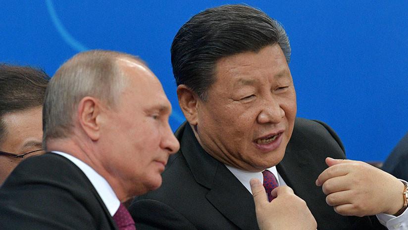 """""""Una casa única"""": Putin regala a Xi Jinping una sauna rusa de madera de cedro"""