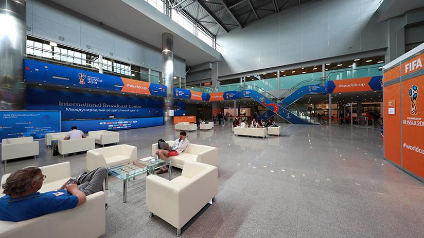 """FIFA: """"El Centro Internacional de Retransmisión del Mundial en Moscú es el mejor en la historia"""""""