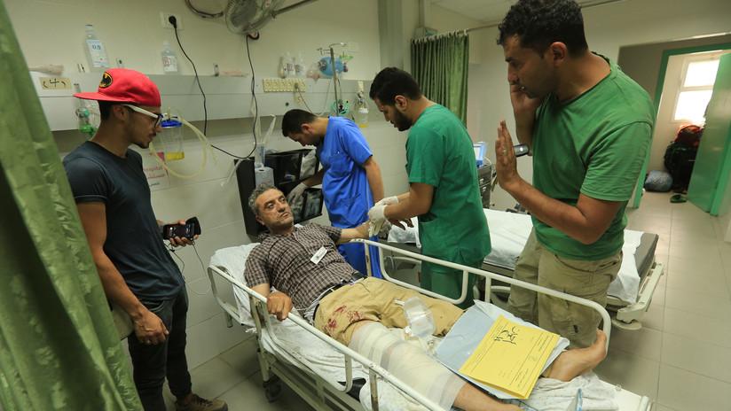 Un fotógrafo de AFP resulta herido por disparos de las fuerzas israelíes en Gaza
