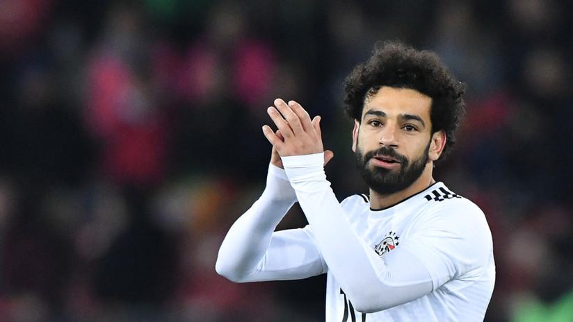 Salah advierte a Uruguay que se recuperará a tiempo para enfrentarlos en el Mundial de Rusia