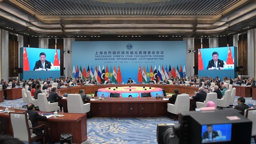 Los líderes de la OCS firman la declaración final de la cumbre en Qingdao