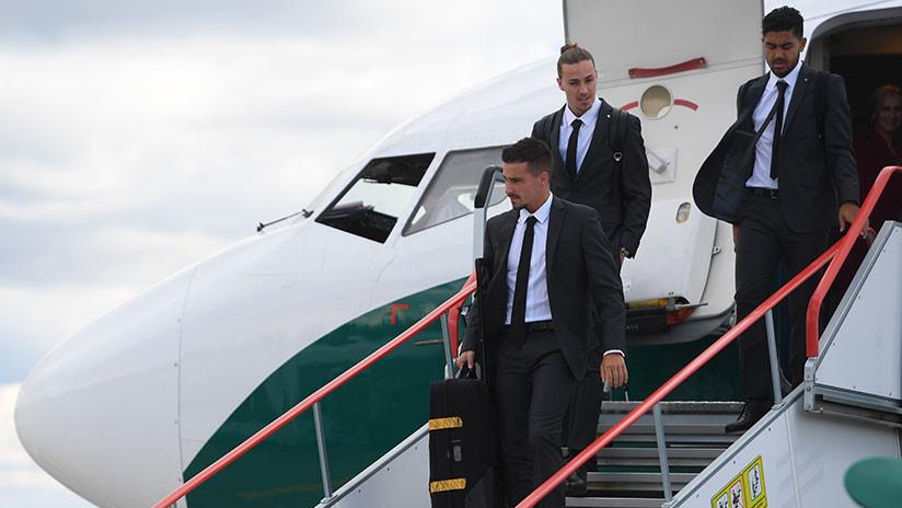 FOTOS: La selección australiana aterriza en Rusia tras una exitosa etapa preparatoria