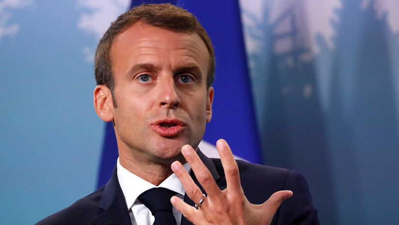 """Macron responde a Trump: """"La cooperación internacional no puede depender de la ira"""""""