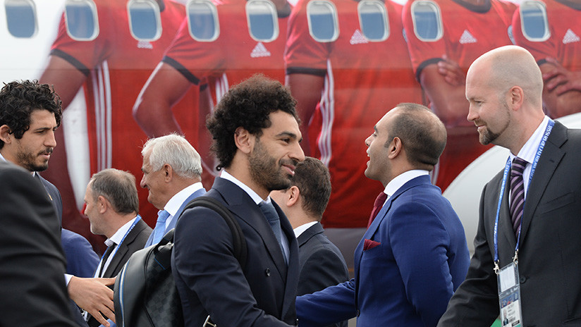 'Los faraones' de Egipto hacen su llegada a Rusia para disputar el Mundial