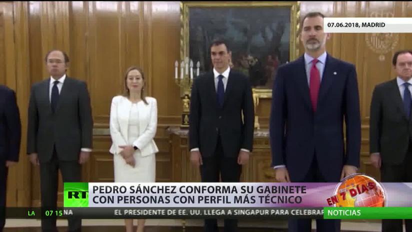 España: Pedro Sánchez conforma su gabinete con personas con perfil más técnico