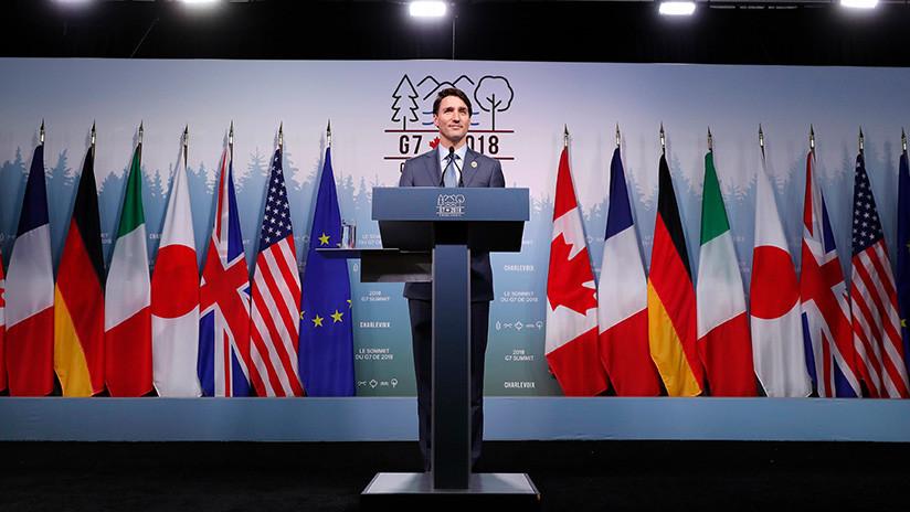 """""""Hay un lugar especial en el infierno"""" para primer ministro de Canadá por criticar a EE.UU. en el G7"""