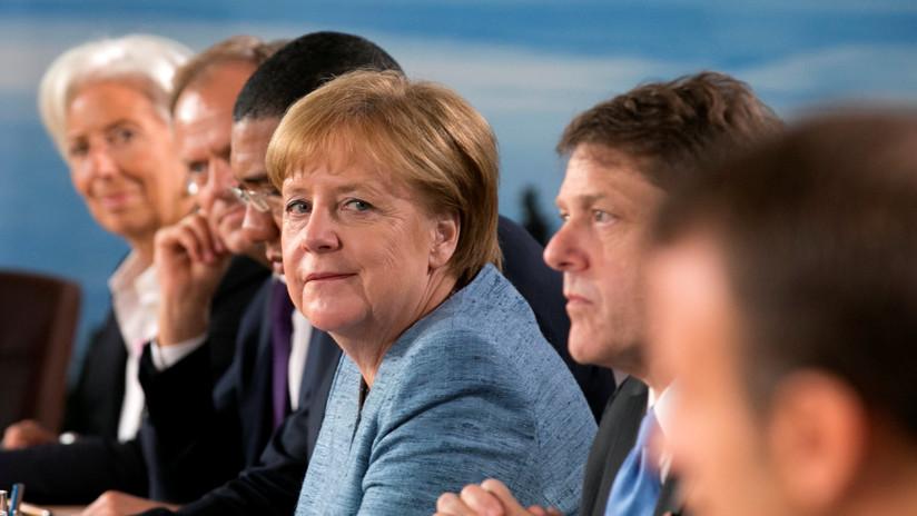 """Angela Merkel tacha los tuits del presidente Trump sobre el G-7 de """"aleccionadores y deprimentes"""""""