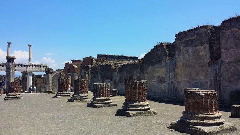 FOTO: Amenazan de muerte a un turista por hacer esta foto 'prohibida' en Pompeya