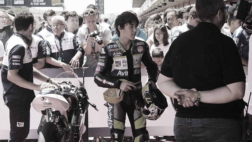 Un piloto español de 14 años fallece en un accidente durante una carrera de motos