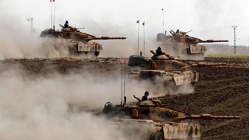 """Turquía lanza operaciones militares en el norte de Irak para acabar con el """"atolladero terrorista"""""""