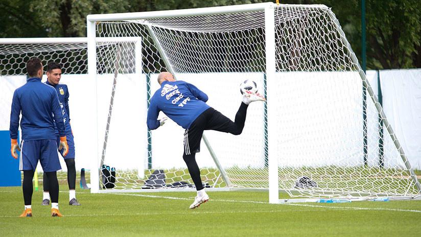 079f1820b VIDEO  La selección de Argentina se entrena para el Mundial 2018