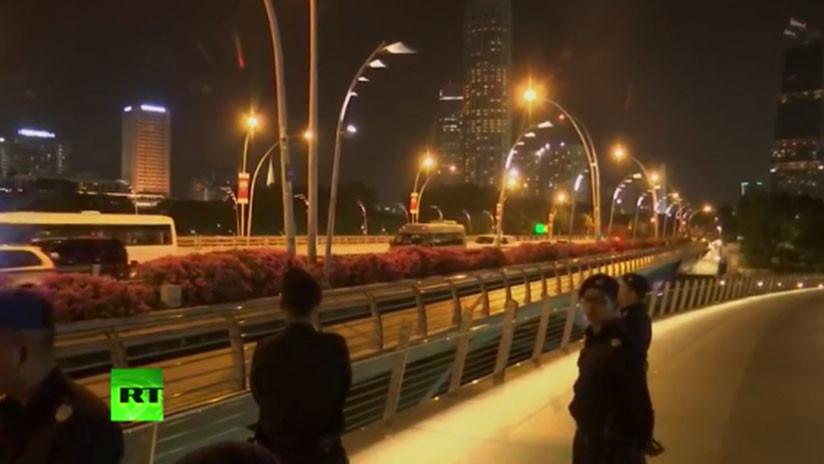 VIDEO: Kim Jong-un da un paseo nocturno por Singapur previo a la cumbre con Trump
