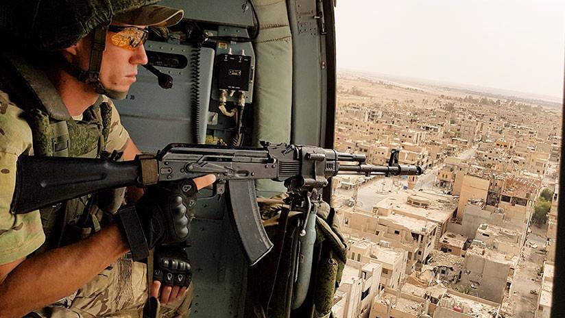El Ejército sirio impide con el apoyo de Rusia que los milicianos se abran paso hacia Palmira