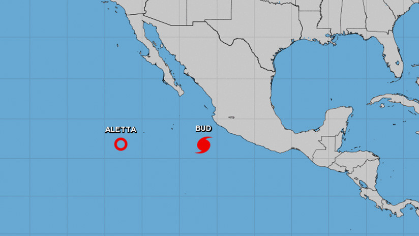 Se forma un nuevo huracán en el Pacífico y se dirige hacia las costas de México