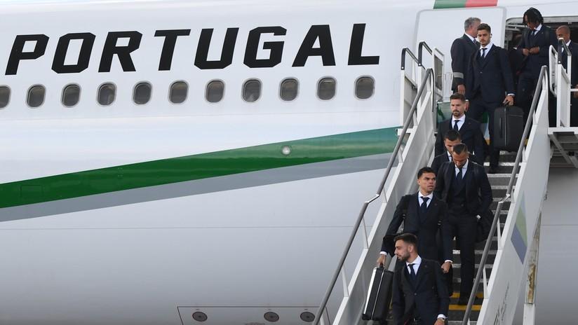 FOTOS: Jugadores de Portugal hallan hermoso homenaje personalizado con motivo del Mundial de Rusia