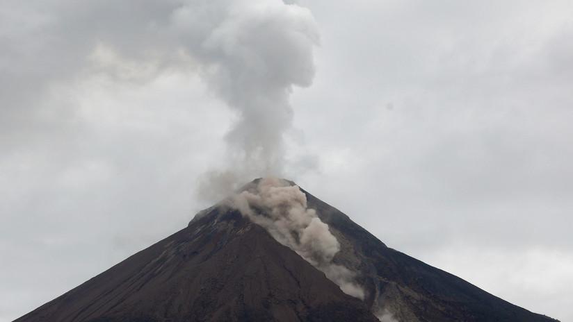 Guatemala: Alerta por descenso de fuerte lahar en el Volcán de Fuego