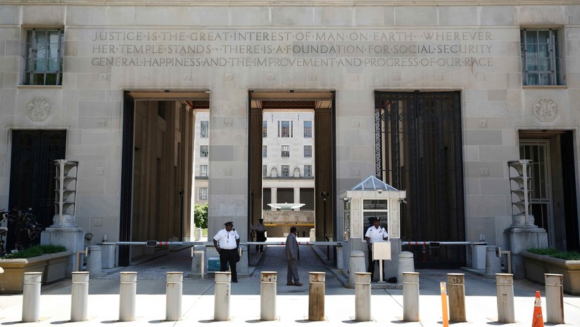 Alarma por un posible tirador activo en el Departamento de Justicia de EE.UU.