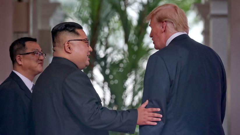"""Kim a Trump: """"Mucha gente verá este momento como una película de ciencia ficción"""""""