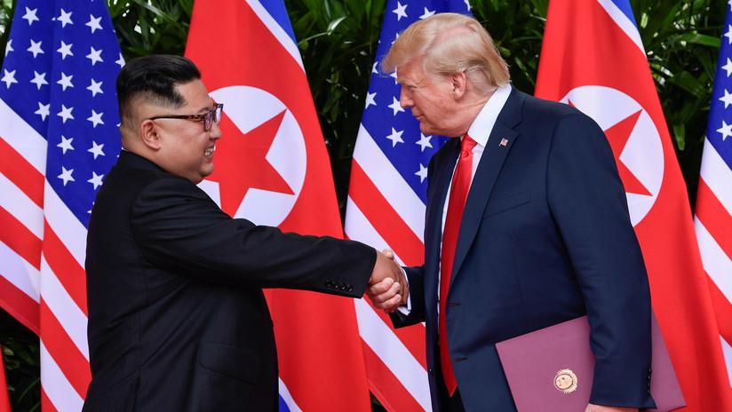 """Trump asegura que el proceso de desnuclearización en Corea del Norte empezará """"muy rápidamente"""""""
