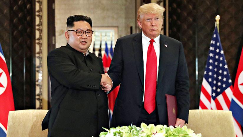 Revelan el contenido del documento firmado por Trump y Kim tras su cumbre en Singapur