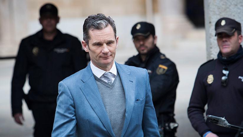 España: El Tribunal Supremo confirma la pena de prisión a Urdangarin, con una rebaja de solo 5 meses