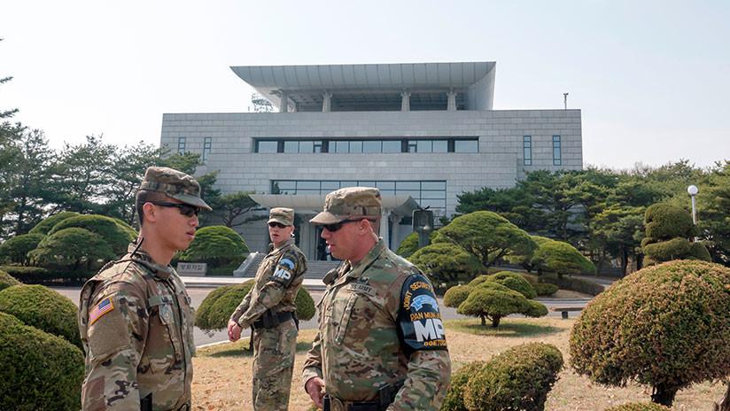 Pentágono: Las tropas de EE.UU. en Corea del Sur no recibieron órdenes para terminar los ejercicios