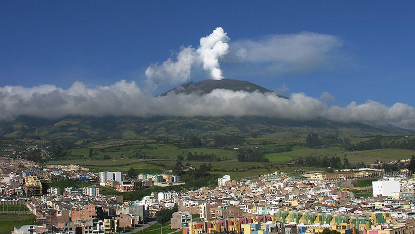 Nuevo sismo se registró en el volcán Galeras