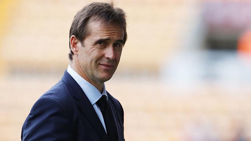 Julen Lopetegui, el seleccionador español, será el nuevo entrenador del Real Madrid