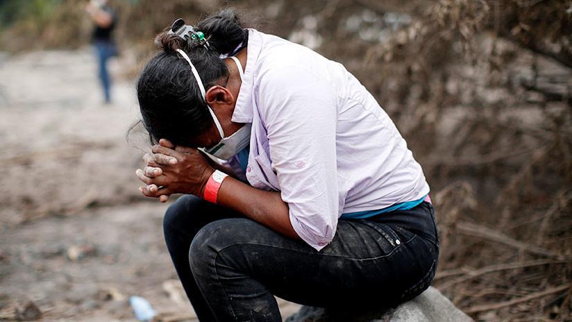 La desgarradora historia de una guatemalteca que perdió 50 familiares en la erupción del volcán
