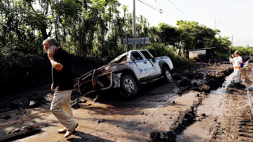 Aludes de material volcánico encienden nuevas alertas en Guatemala días después de la erupción