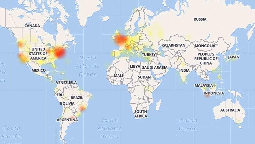 Instagram para de trabalhar em vários países