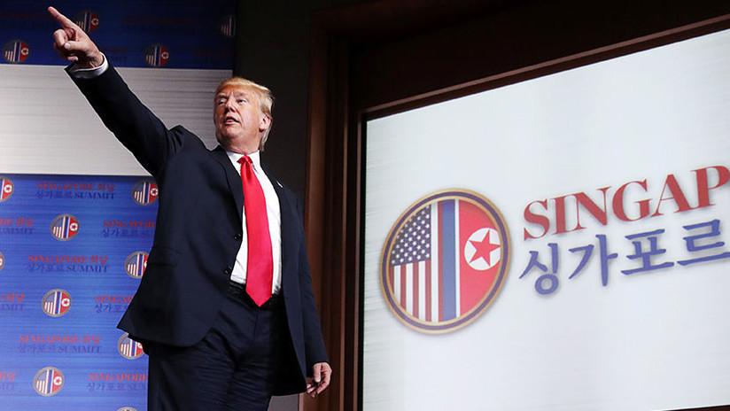 Con un video estilo Hollywood: Trump quiere convencer a Kim de hacer de Corea del Norte un balneario